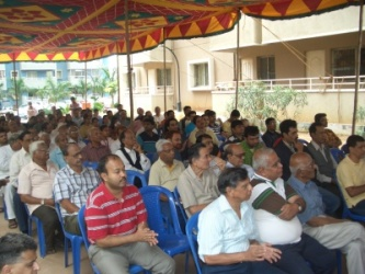 Suncitizens gathered for Khatha Distribution Ceremony